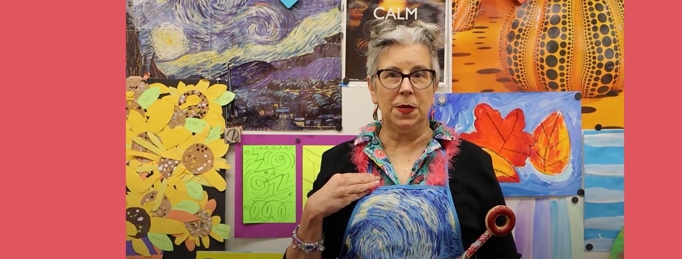 Learn about the |David Lubin Arts Program