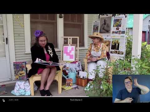 Porch Stories with Artist Romare Bearden